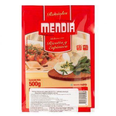 Ravioles-mendia-ricotta-y-espinaca