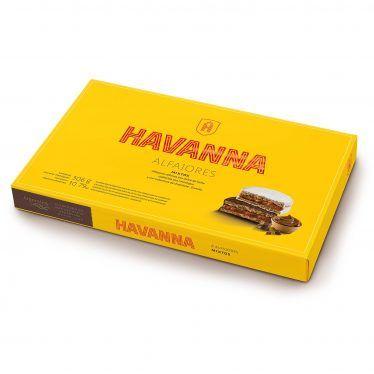 Alfajor Havanna Mixtos Chocolate negro y merengue caja pequeña 6