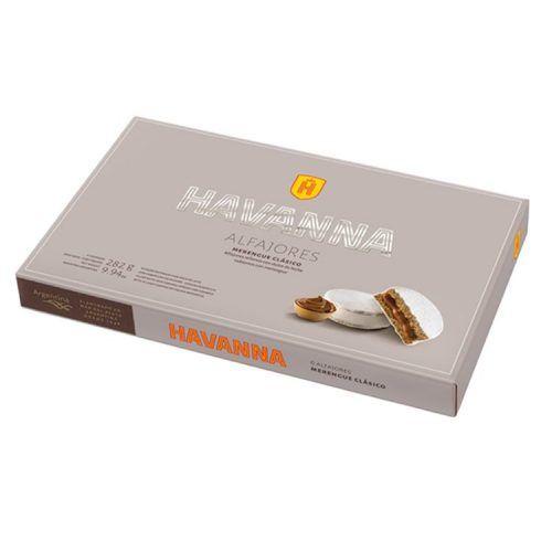 Alfajor Havanna merengue blanco caja pequeña 6